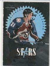 PETER FORSBERG 1995-96 LEAF STARS OF THE GAME (PROMO/5000) RARE
