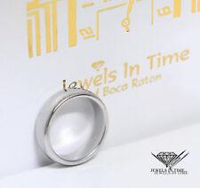 Tiffany & Co. Platinum 6mm Wedding Band Ring Size 7.75