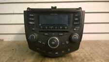 03 HONDA ACCORD EX 3.0 SEDAN AT 6 DISC RADIO TEMPERATURE CLIMATE CONTROL SWITCH