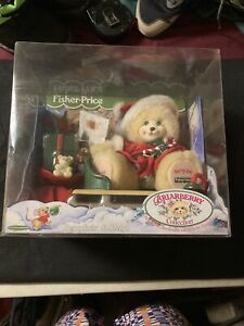 New Fisher Price Briarberry  Bear Collection  1999 BERRY KRIS & SLEIGH