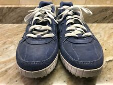Skechers Men's SN 51335 Relaxed Fit Blue Suede Casual Leather Shoes US Size 13