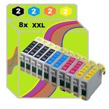 8x Patronen für Epson 445 XP332 XP335 XP430 XP432 XP435 XP345 XP442 XP247 XP342