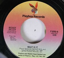 Country 45 Mickey Gilley - What Is It / Lawdy Miss Clawdy On Playboy Records