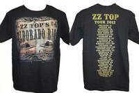 NEW ZZ Top Eldorado Bar Tour 2012 Mens Adult M Medium Licensed Concert Shirt