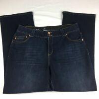 Lane Bryant Women's Bootcut Denim Jeans Size 18