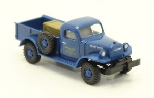 """1/87 HO Scale Busch """"Dodge Power Wagon"""" NIB"""