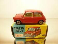 CORGI TOYS 225 AUSTIN SEVEN - RED 1:43 - GOOD CONDITION IN BOX