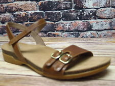 Dansko Rebekah Waxy Burnished Tan Sandal  *6021-150600