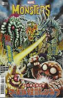 Marvel Monsters Comic Issue 1 Cover B Variant Superlog First Print 2019 Bunn