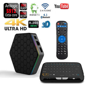 Amlogic S912 T95Z PLUS Octa Core Dual Wifi Bluetooth Android 1080p 4K 3D TV Box