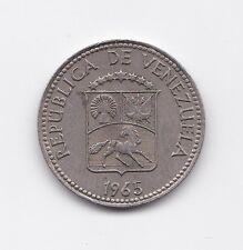 Republica De Venezuela 5 Centimos Coin 1965