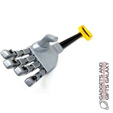 PLASTIC LIFE SIZED ROBOT ROBOTIC HAND PULL & RELEASE gift toy gadget adult child