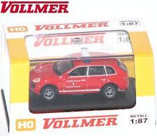 Vollmer Cars H0 41688 Porsche Cayenne Turbo rot als Feuerwehr - NEU + OVP #V1