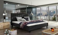 Design Doppelbett Betten Polster Ehe Doppelbetten Bett 140 160x200cm Lederbett