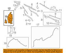 NISSAN OEM 14-16 Rogue Wiper Washer-Windshield Fluid-Reservoir Tank 289104BA5A