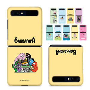 For Galaxy Z flip Barbapapa hard case Shockproof Slim Protective PC Shell Cover