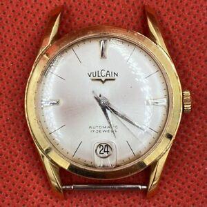 Vulcain Vintage Swiss Calendar Watch w/ Case Made in Hong Kong