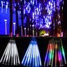 20cm/30cm 180/144 LED Lights Meteor Shower Rain 8Tube Outdoor Light Xmas Tree