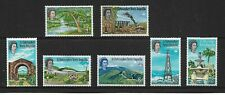 1963/69 ST CHRISTOPHER NEVIS ANGUILLA - SELECTION OF SEVEN - MOUNTED MINT.