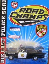 Maryland State Police Trooper 1957 Ford Fairland ROAD CHAMPS FREE SHIPPING