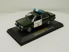 GL4D voiture 1/43 IXO altaya : Seat 131 Supermirafiori guardia civil Police 1979