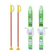 Kinderski Babyski Lernski 70cm Ski für Kinder in Farbe Grün