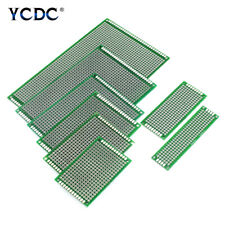 Single Duel Sides PCB Printed Circuit Board Universal Prototype Breadboard 00D3