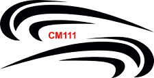 Caravan Cm111 Motorhome Surf Car Van Vinyl Graphics Sticker Decal Transfer