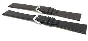 Womens Leather Watch Band Buffalo 8mm 10 12 14 16 18 20mm Brown, Black, White