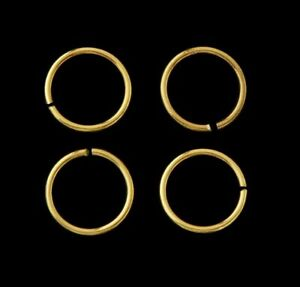 Four Replacement Rings For Great War Victory Medals