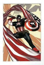 Captain America (Marvel 2018) #1 Adam Hughes 1:500 Virgin Variant (NM)