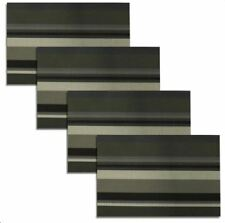 Set of 4 Woven Dining PVC Placemats (Gray & Green)
