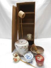 Tea Set Japanese Tea Ceremony Traditional Vintage #76