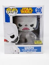 Funko Pop Star Wars Flocked Wampa Hot Topic Exclusive  Hoth Vinyl Bobblehead
