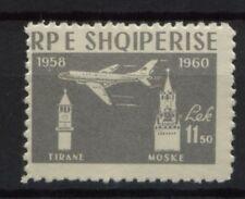 Albanie 1960 SG # 660 jet air service neuf sans charnière