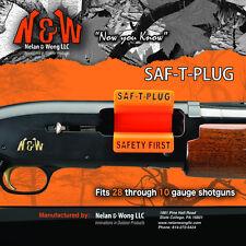 Saf-T-Plug 3pack- Fits 28 gauge to 10 gauge