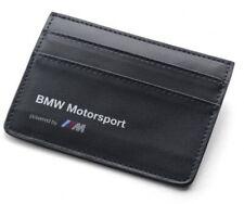 WALLET Credit Card Holder Leather BMW Motorsport Team M Power DTM Touring NEW!