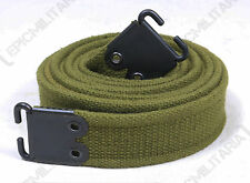 Original British Army L1A1 Long Gun Sling - Olive Green Surplus Webbing Strap