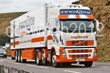 Colour photograph 6X4 photos truck : Innovate Logistics frozen food lorry  6m20