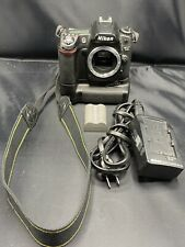 Nikon D80 Camera, w/ 1 Battery, Battery-Grip, And Charger