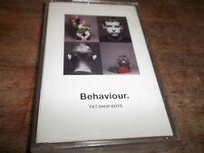 1990 CASSETTE BEHAVIOUR BY THE PET SHOP BOYS- EX. CON-