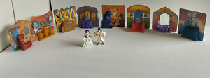 McD's Happy Meal Disney's Aladdin & King of Thieves-10pc set-Jasmine & 8 Stages