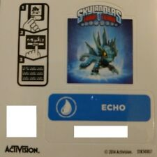 Echo Skylanders Trap Team Core Figure Sticker / Code Only!
