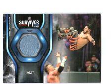 WWE Ali 2019 Topps SmackDown Survivor Series Mat Relic Card