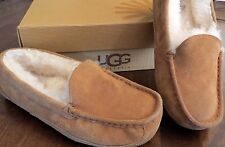 UGG BIG KIDS ASCOT SHOE / SLIPPER~CHESTNUT~SIZE 4~BARELY WORN~WITH BOX