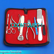 Professional and Home user Ingrown Toenail Kit Hand Tools Set,BTS-121