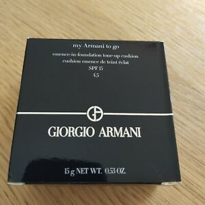 my Armani to go - essence-in-foundation tone-up cushion SPF 15 - shade 4.5 - New