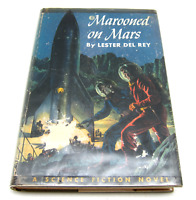Marooned on Mars Lester Del Rey 1st Edition Stated Winston 1952 SIGNED