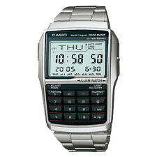 CASIO Multi-Lingual DATA BANK Calculator Digital Watch DBC-32D-1A 2 Yr Warranty