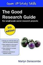 The Good Research Guide: For Small Scale Research Projects-ExLibrary